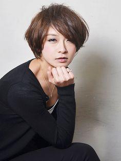 女子力UP!大人ショート:ショート   ビューティーBOXヘアカタログ