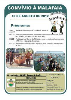 Convívio à Malafaia   > 18 de Agosto, 2012   org. ACDRS Portas da Freita