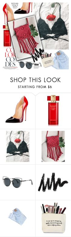 """""""Gifts for her"""" by vanjazivadinovic ❤ liked on Polyvore featuring Estée Lauder, Tiffany & Co., polyvoreeditorial and zaful"""