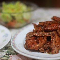 Tebasaki (Japanese fried chicken wings)
