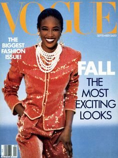 Breaking boundaries: Anna Wintour recalls how when she put Naomi Campbell on the cover of the September issue in 1989, execs were surprised by the choice.