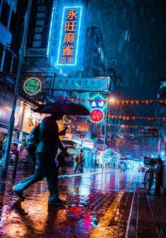 Stunning Cyberpunk Street Photography by Teemu Jarvinen Urban Photography, Night Photography, Family Photography, Street Photography, Travel Photography, Photography Ideas, Building Photography, Photography Series, Photography Basics