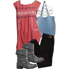 """""""Malia Inspired Outfit with Requested Top"""" by veterization on Polyvore"""