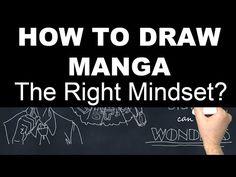 Yamada Parker's Drawing Manga Characters School – How to Draw Manga Characters – Part 2: Getting in the Right Mindset