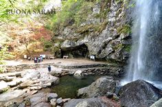 Waterfall on Gumosan Mountain (Gumi, South Korea) - Hiked this mountain with Marianne and 2 of our students