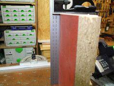 Michas Holzblog: Tipp: (Schnitt)Winkeljustage an einer Festool TS(C) 55 R Festool Ts 55, Woodworking Jigs, Simple Machines, Tips