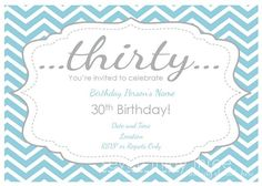 Free printable birthday invitations and favor tags