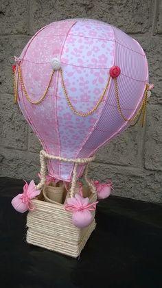 globos aerostaticos de tela en rosa - Buscar con Google