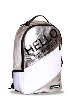 Hello Metallic Backpack