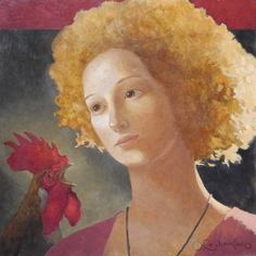 THE RED COMB Olga Oreshnikov was born in Leningrad (USSR); in 1990 immigrated to Israel.