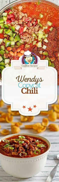 You can recreate copycat Wendy's Chili at home with this easy recipe.