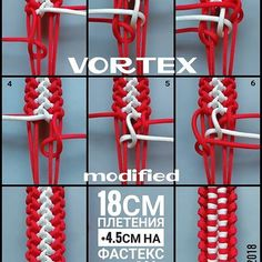 Regran_ed from - Vortex modified/Вихрь модификация. Paracord Bracelet Instructions, Paracord Tutorial, Bracelet Tutorial, Macrame Tutorial, Paracord Braids, Paracord Bracelets, Bracelets Design, Do It Yourself Jewelry, String Crafts