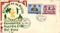 Peru 1966 FDC Benemerita Guardia Civil del Peru