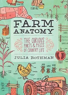 What's the difference between a weanling and a yearling, or a farrow and a barrow? Country and city mice alike will delight in Julia Rothman's charming illustrated guide to the curious parts and pieces of rural living. Dissecting everything from tractors and pigs to fences, hay bales, crop rotation patterns, and farm tools, Rothman gives a richly entertaining tour of the quirky details of country life. From the shapes of squash varieties to the parts of a goat; from how a barn is constructed…