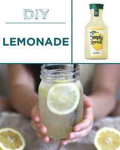 Pre-made lemonade is crazy sweet, but you can customize yours to taste.
