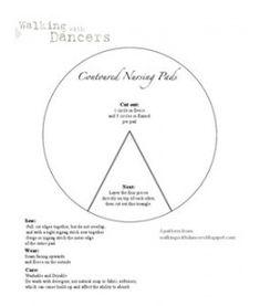 Contoured Nursing Pad Pattern