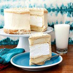 Peanut Butter Marshmallow Cake