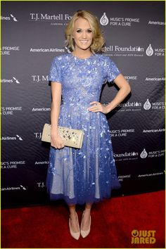 Carrie Underwood is all dolled up for the T.J. Martell Foundation's 2013 Honors Gala held at Cipriani 42nd Street on Tuesday (October 22) in New York City. More pics on JustJared.com!