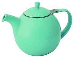 FORLIFE Curve Teapot w/ Infuser 45-oz, Turquoise