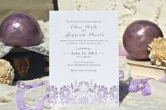 ANY COLOR  Pretty Lace Invitation any color  by SeaOfLoveStudios, $42.00