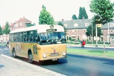 Groene Hilledijk in 1963 Rotterdam, Road Train, Bus Coach, Old Trucks, Ww2, Holland, History, City, Coaches