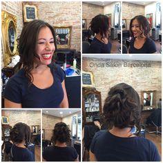 Peinado + recogido + maquillaje - Blow dry + hair up + make up by Piero Zattera and the Onda Salon Team.  #OndaSalon #peinado #recogido #maquillaje #blowdry #hairup #makeup #peluqueriaBarcelona #peinadoBarcelona #recogidoBarcelona #maquillajeBarcelona #blowdryBarcelona #hairupBarcelona #pierozattera #makeupBarcelona #Barcelona #Barceloneta