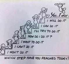 Nice! Which step have you reached today? On the back of the door!