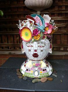 Pretty lady by gillm_mosaics, via Flickr