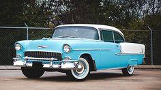 1955 Chevrolet Bel Air Hardtop 265 CI, AACA Senior Grand National presented as lot S187 at Kissimmee, FL