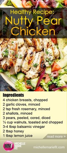 This is an awesome healthy recipe! Its delicious and easy to make! Heart Healthy Diet, Heart Healthy Recipes, Fruit Recipes, Turkey Recipes, Gourmet Recipes, Healthy Eating, Cooking Recipes, Healthy Foods, Meal Recipes