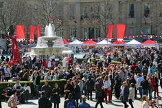St George's Day in Trafalgar Square on April 21 to be a Grand Affair