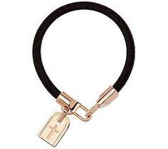 G.I.L.I. for Bronzo Italia Rose Bronze Symbol Tag Bracelet
