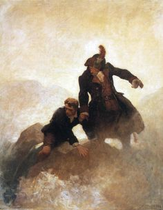 N.C. Wyeth / KIDNAPPED by Robert Louis Stevenson