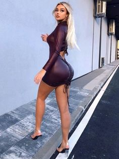 Winter Fashion Outfits, Summer Outfits, Robes Glamour, Look Body, Boujee Outfits, Foto Casual, Bodysuit, Beautiful Dresses, Beautiful Wife