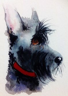 Scottie Dog by Patch Wheatley on ARTwanted