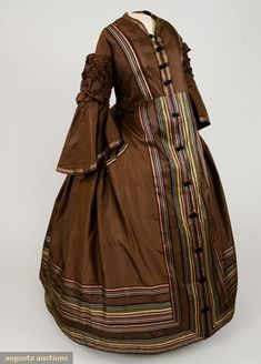 Maternity Dress c. 1850s