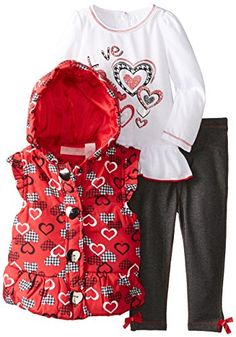 Kids Headquarters Baby-Girls Infant Heart Print Vest with Tee and Pants, Red, 18 Months Kids Headquarters http://www.amazon.com/dp/B00JFPUXN0/ref=cm_sw_r_pi_dp_pWPEub0TDDBRJ