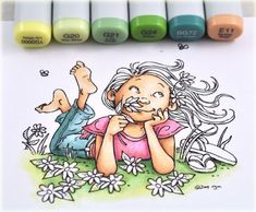 another great Copics tutorial .... http://debbiedesigns.typepad.com/muse_and_amuse/2011/09/stop-and-smell-the-flowers.html