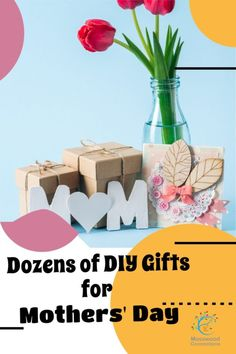 40 DIY Gifts for Mothers Day that come straight from the heart! Kids will love to create their own Mother's Day present for mom #mosswoodconnections #crafts #parenting #mothersday #DIY #homemadegift 40 Diy Gifts, Diy Gifts For Mothers, Mothers Day Crafts For Kids, Mothers Day Presents, Homemade Gifts, Mother Day Gifts, Fathers Day, Holidays Around The World, Holidays With Kids
