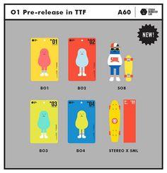 2014第11屆台北國際玩具創作大展 參展單位介紹:Sticky Monster Lab | 玩具人Toy People News Simple Character, Character Concept, Character Design, Toy Packaging, Packaging Design, Sticky Monster, 3d Cinema, Mascot Design, Illustrations And Posters