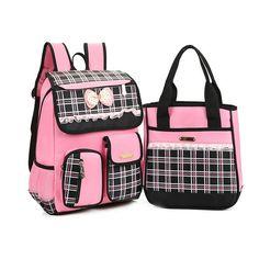 ee91a45d3a22 ... best service f7686 3281f 2016 New Kids Plaid School bags Boys Girls  School Backpacks High Quality ...