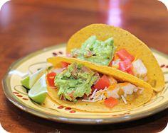 Green Chili Chicken Tacos