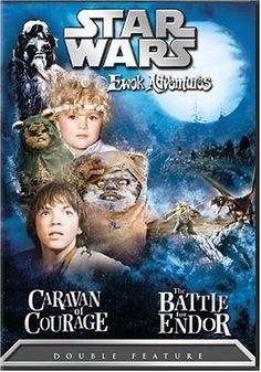 Star Wars Ewok Adventures - Caravan of Courage / The Battle for Endor - Jim Wheat