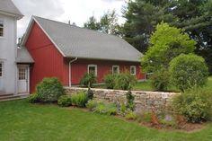 c. Exterior - garage with garden