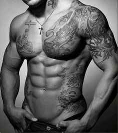 Um, this could be the torso of any one of your favorite Black Dagger Brother!!!