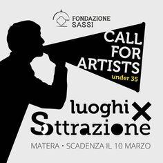 """Fondazione Sassi. Ancora pochi giorni per partecipare alla call """"Luoghi per Sottrazione"""" destinata agli artisti under 35"""
