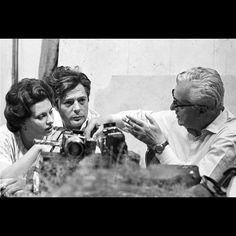 Ladies and Gentlemen: Sophia Loren, Marcello Mastroianni & Vittorio De Sica #sophialoren #sofialoren #marcellomastroianni #mastroianni #desica #vittoriodesica #italiani #theitaliancinema #cinemaitaliano #cinema #photography #fotografia #vintage #attoriitaliani #regista #regist #commediaitaliana #comedy #commedia #annisessanta #annicinquanta #60s #50s#italianstyle #stileitaliano #italy