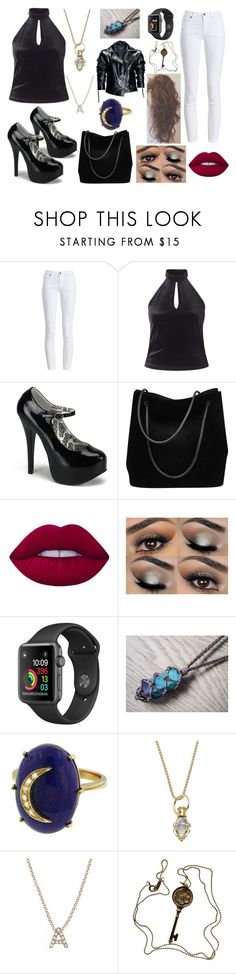 """#Character 18"" by ariana-079 ❤ liked on Polyvore featuring beauty, Barbour, Miss Selfridge, Gucci, Lime Crime, Andrea Fohrman, Temple St. Clair, Bony Levy, Tiffany & Co. and Leka"