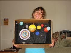 diorama for 3rd grade solar system