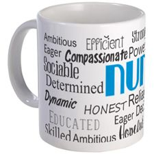 Nurse Adjectives Mugs